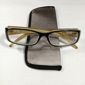 Foster Grant Lyrical BLK Reading Glasses +2.00